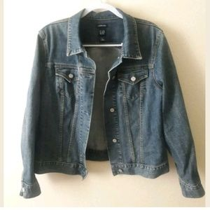 GAP Stretch Womens Denim Jacket